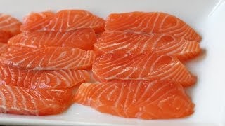 Quick Cured Salmon - How to Cure Salmon in 3 Minutes