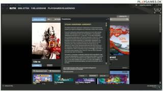 Vejledning til at indløse produktnøgler (CD keys) på Steam