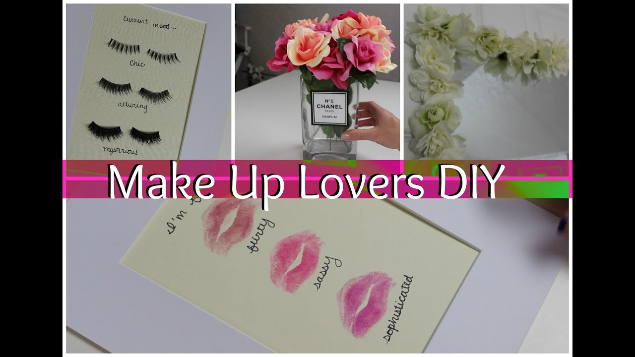 Room Decor Diy Make Up Lovers Diy Room Decor Youtube