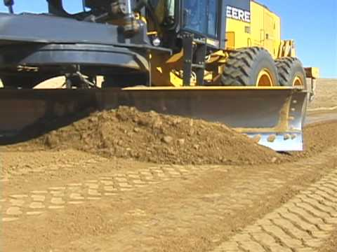Motor Grader Operating Techniques Youtube