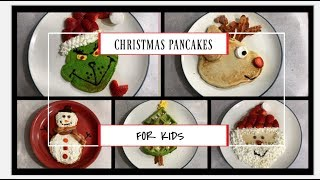 Christmas Pancakes For Kids