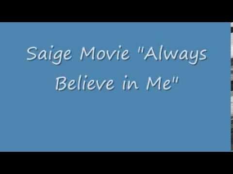 American Girl Saige Always Believe In Me Youtube