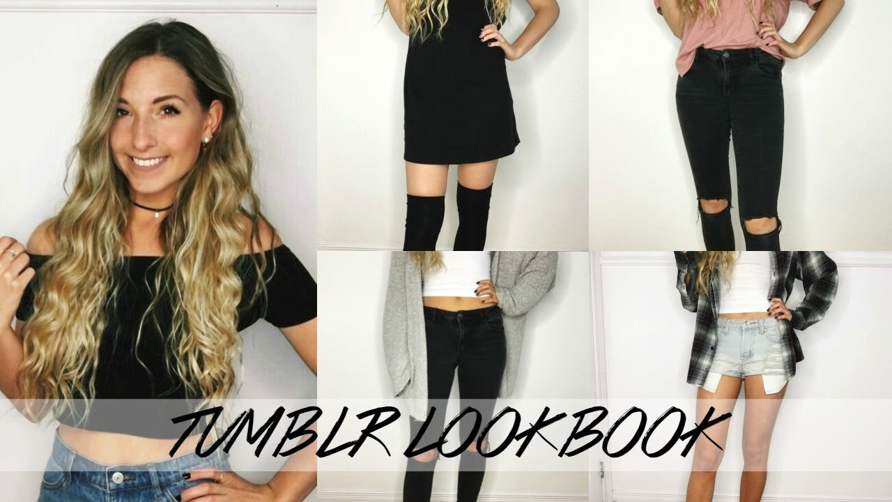 Looks - Dress black outfits tumblr video