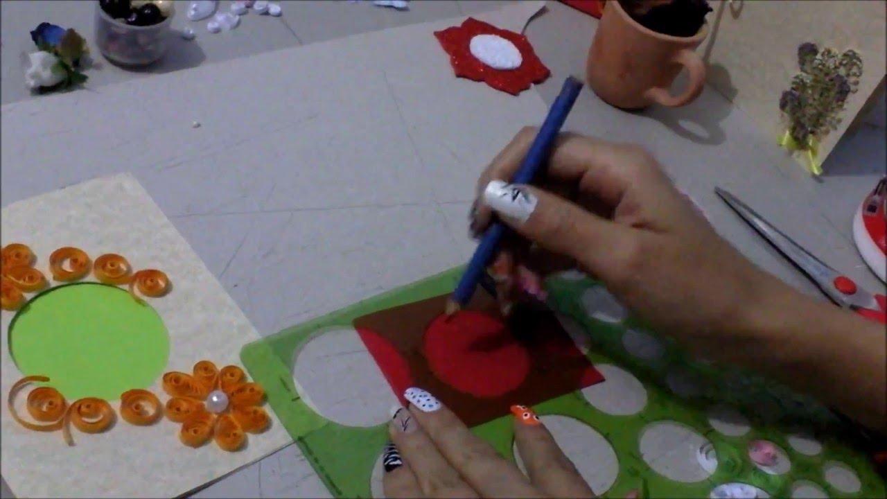 Como hacer una tarjeta con material reciclado diy youtube - Como realizar tarjetas navidenas ...