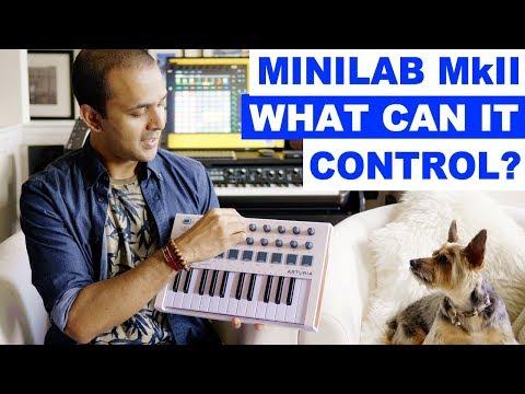 Arturia Minilab MkII - Control Virtual Instruments! And Analog Lab!