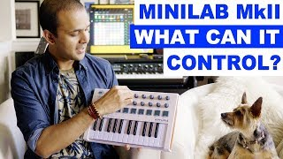 Arturia Minilab MkII - Control Virtual Instruments! And Analog Lab!