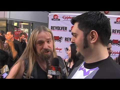 ZAKK WYLDE Interview at Revolver Golden Gods 2010 on Metal Injection