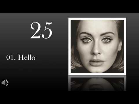 """25"" by Adele (Album Preview)"