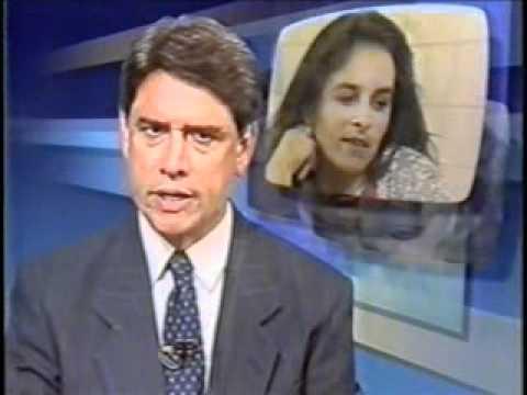 Jornal Nacional - morte de Cláudia Magno (1994)
