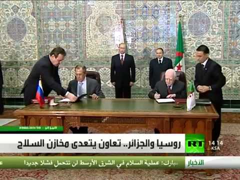روسيا والجزائر   تعاون يتعدى مخازن السلاح   Russia and Algeria cooperation goes beyond arms stores