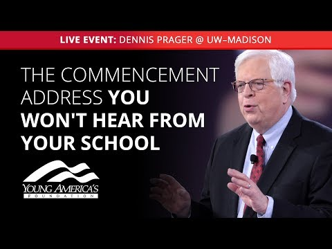 Dennis Prager LIVE at UW—Madison