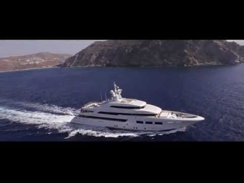 Crn Yachts 61m M Y Saramour Youtube