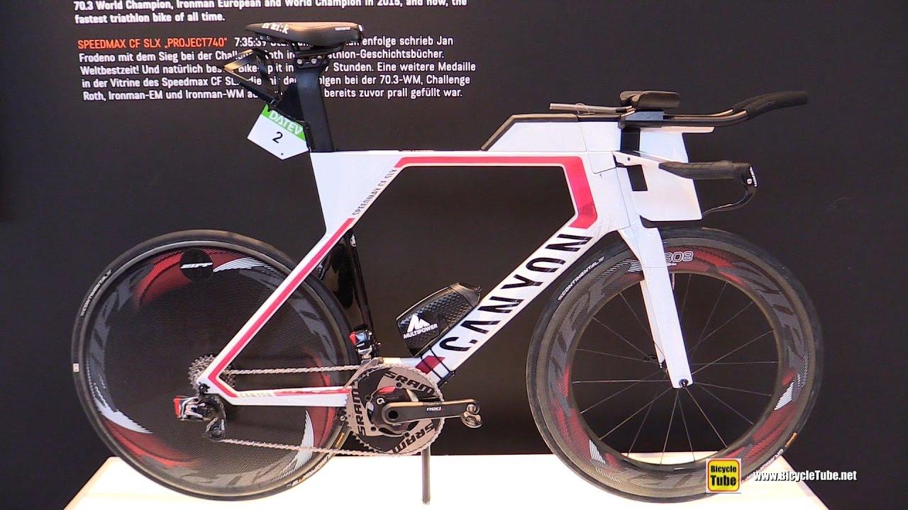 5a62b054c9a 2017 Canyon Speedmax CF SLX Project 740 Triathlon Bike - Walkaround - 2016  Eurobike