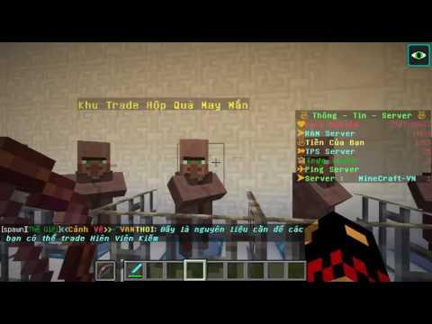 Hướng Dẫn trade Hiên Viên Kiếm server MineCraft-VN