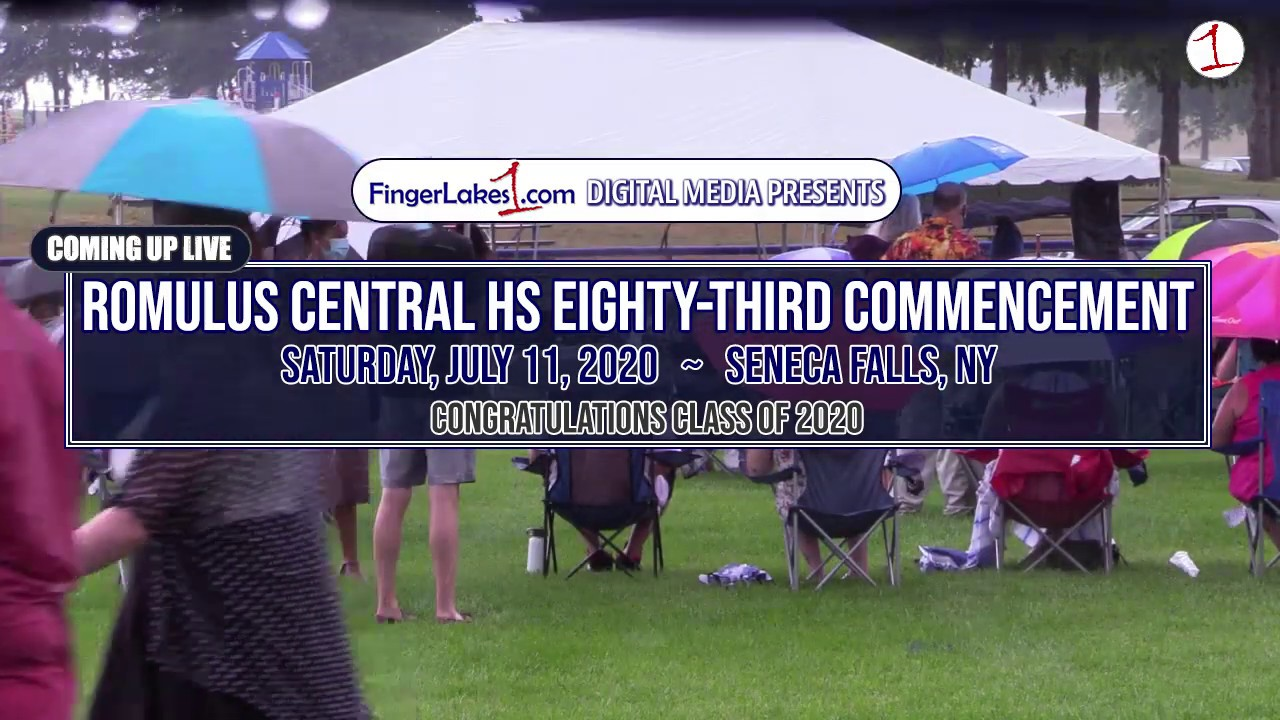 WEBCAST REPLAY: Romulus CSD Class of 2020 Commencement (video)
