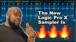 Logic Pro X 10.5 Sampler is a Beast!!! Sampler Tutorial