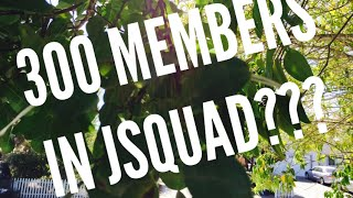 300 MEMBERS IN THE JsQuad FAMILY?? :D