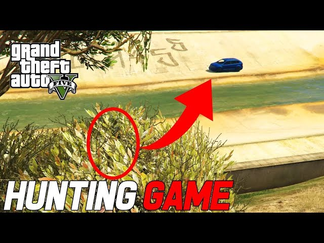 GTA V Hunting Game - SPANNEND RECORD GEHAALD!