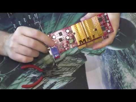 Видеокарта AGP FX 5200 128MB
