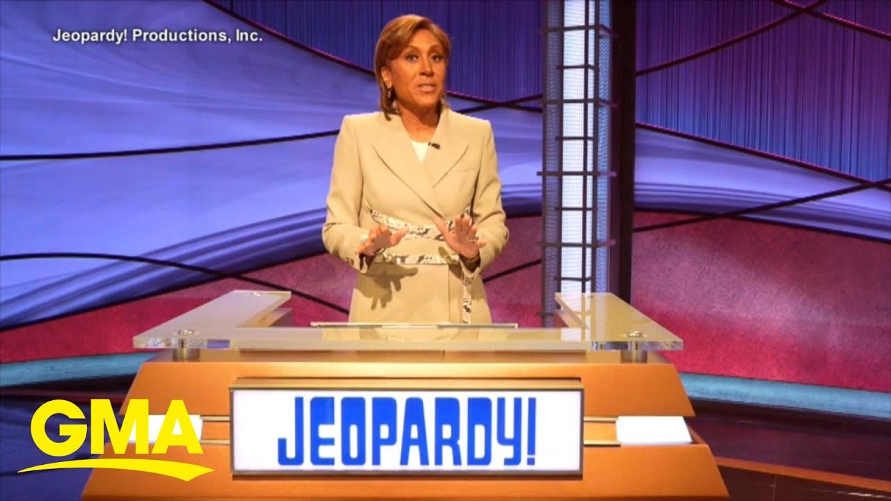 'Jeopardy!': Robin Roberts is the new host. How long is she hosting?