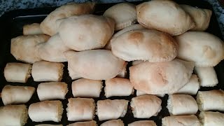 Cách làm BÁNH QUAI VẠC nhân dừa đậu xanh (bánh xếp) truyền thống -Món Ăn Ngon Mỗi Ngày- TẬP 2