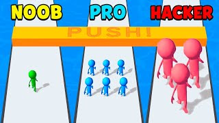 NOOB vs PRO vs HACKER - Dice Push screenshot 2