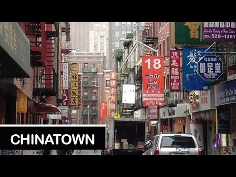 A Walk in Chinatown, New York City