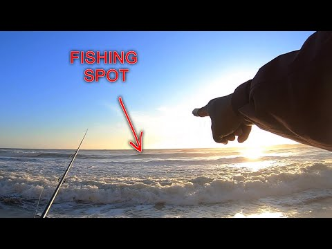 WHERE To Fish For STRIPED BASS On The Beach? | Reading Surf FISHING SPOTS
