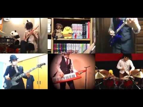 [HD]Kekkai Sensen ED [Suger Song to Bitter Step] Band cover