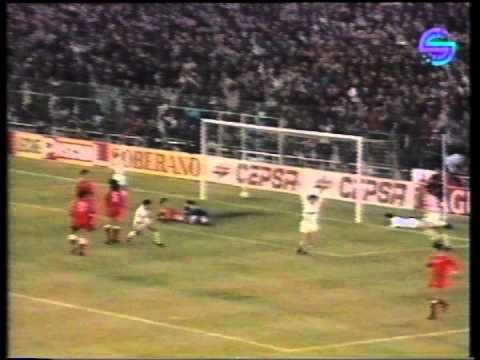 Real Madrid - Sevilla 7-0 Liga 1990-1991