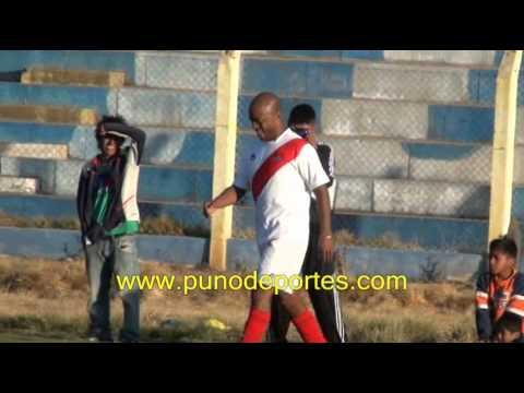 Goles de la Agremiacion de Futbolistas frente a la Seleccion de Juliaca