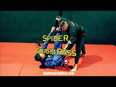Spider Guard Pass 🕷