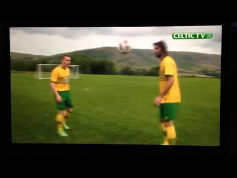 Celtic FC Skill School - Scott Brown vs Georgios Samaras