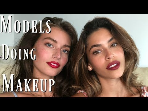 The Perfect Red Lip | Natural Model Makeup Tutorial | Jessica Clements