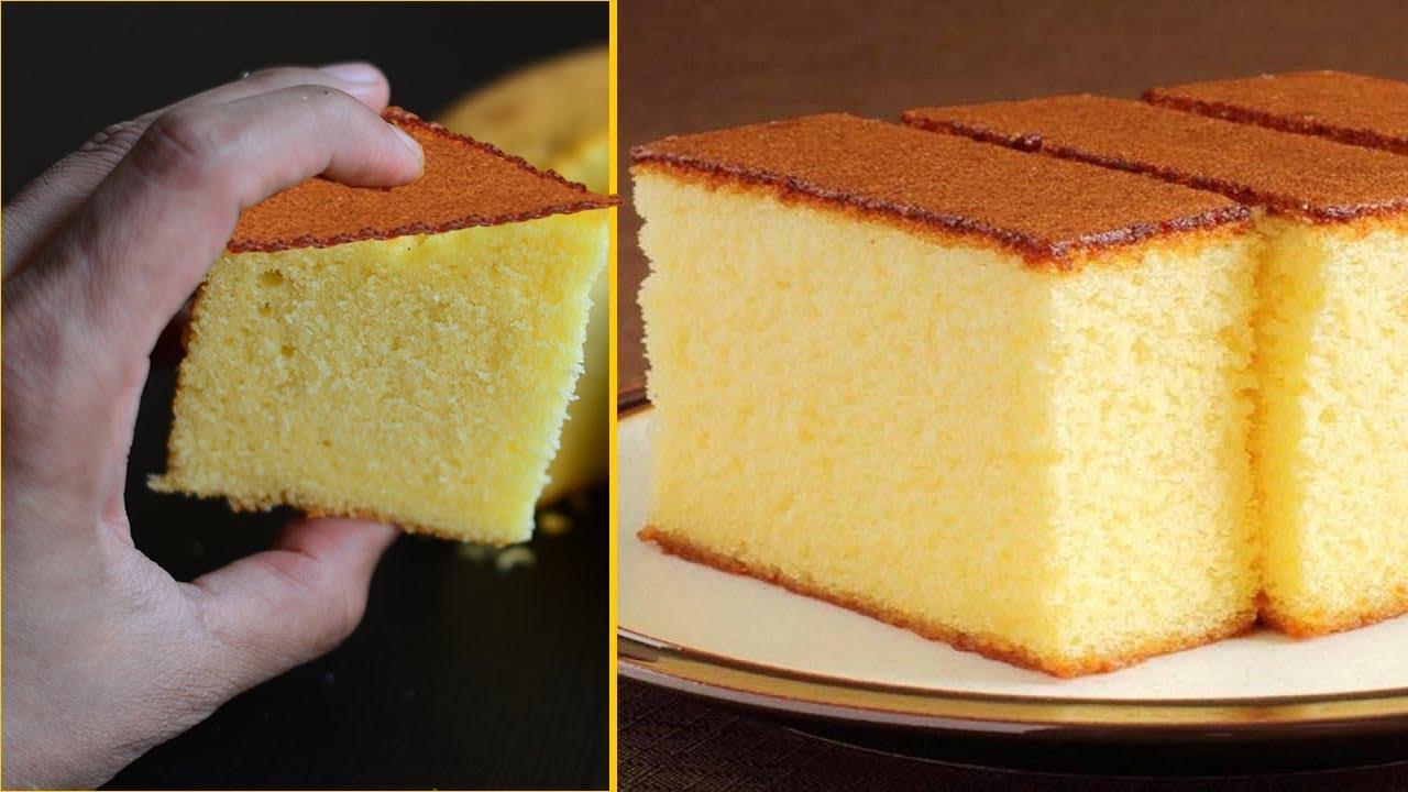 Easy Sponge The Cake Recipe Happy Birthday Cake How Sponge