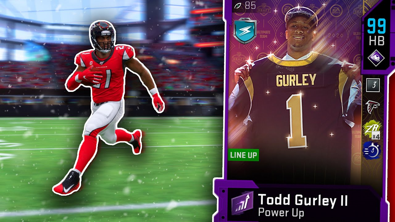 99 Overall Draft Hero Todd Gurley Is Unstoppable Madden 20 Ultimate Team Youtube
