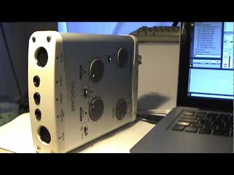 Tascam US-122L Audiointerface