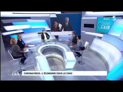 Coronavirus: l'économie sous le choc #cdanslair 06.03.2020