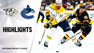 nhl-highlights-predators-canucks-2-10-20