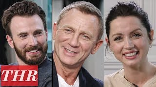 Chris Evans, Daniel Craig, Ana de Armas & More 'Knives Out' Cast Play Fishing for Answers | TIFF