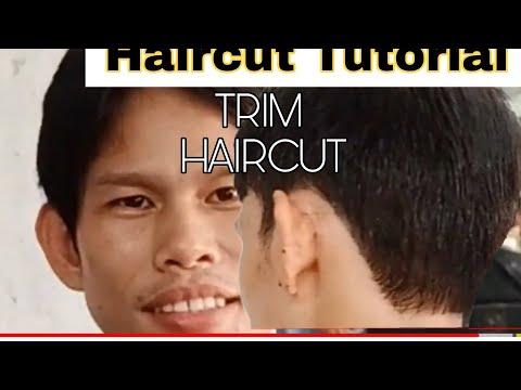how-to-cut-trim-haircut,paano-mag-gupit-ng-trim