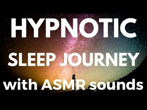 Hypnotic Sleep Story (with Auditory ASMR triggers) INTERGALACTIC SPACE TRAVEL