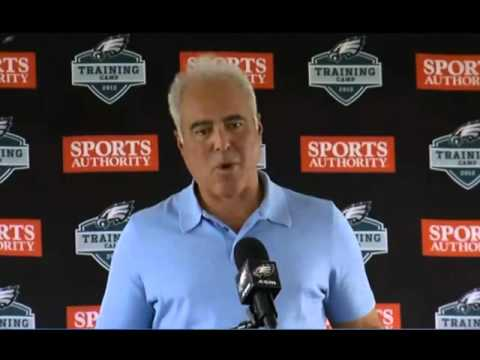 Jeffrey Lurie choked up
