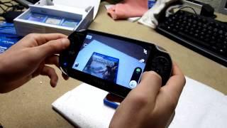 PS VITA : déballage, démonstration et TEST vidéo en français par Testlandfrance psvita SONY