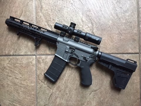 Aero Precision Tungsten AR 15 Pistol