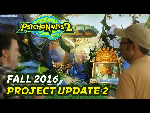 Psychonauts 2 Art Test w/ Tim and Zak
