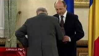 Vasile Paraschiv a refuzat decoraţia oferită de preşedinte
