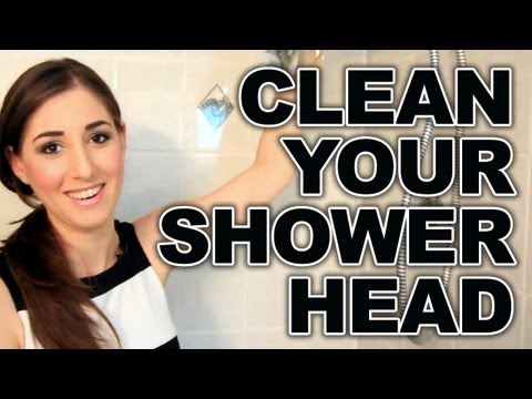 How To Clean A Shower Head And Taps Remove Limescale
