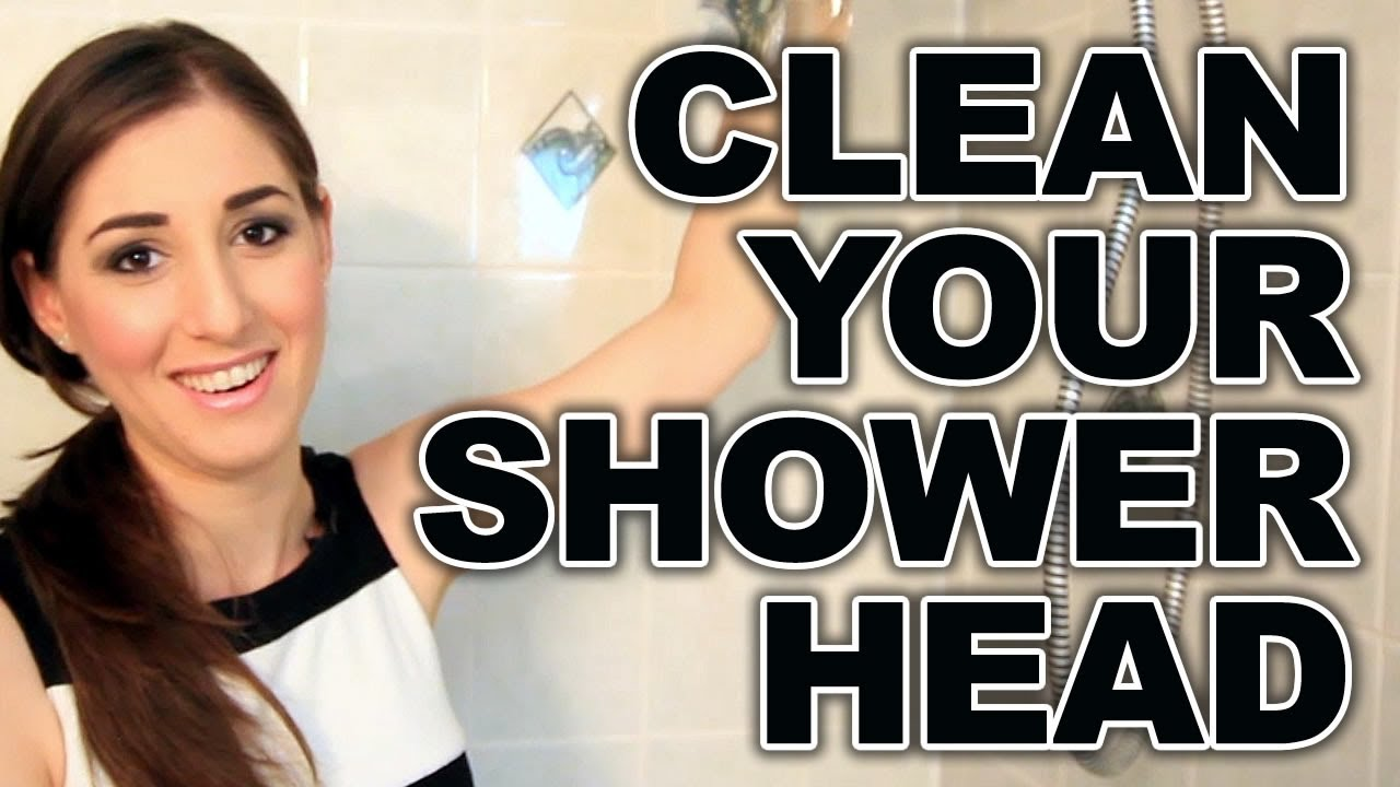 How To Clean Your Shower Head Easy Bathroom Cleaning Ideas