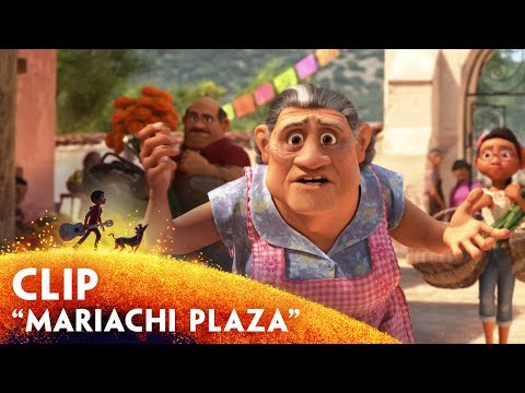 """Mariachi Plaza"" Clip - Disney/Pixar's Coco"